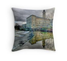 Salts Mill - HDR Throw Pillow