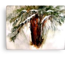 Concerto....A Winter Poem... Canvas Print