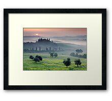 Tuscan Morning Framed Print