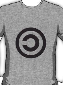 Copyleft Symbol - Support the Free Web! T-Shirt
