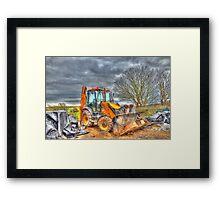 Resting Digger Framed Print
