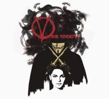 V for Vendetta  by cedd1