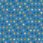 Blue dots by Sanne Thijs