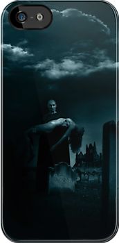 Dracula at Whitby Abbey - iPhone by Andrew Bret Wallis