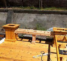 Bench/planter framing by kentharris