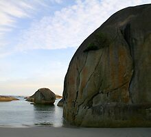 Elephant Rocks Beach WA by Leonie Mac Lean