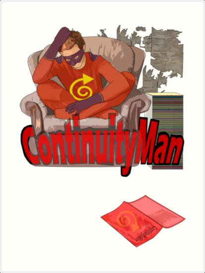 continuityman by IanByfordArt