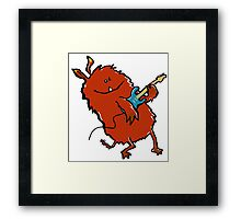 rock'n'roll animal Framed Print