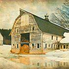 Winter Dairy Barn by JimBremer