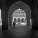 Ibrahim Roza. Bijapur, Karnataka state India by Syd Winer