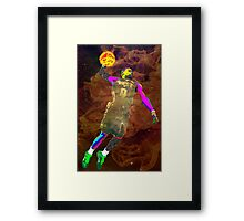 Russell Westbrook Framed Print