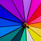 Rainbow Umbrella by Ben Cordia