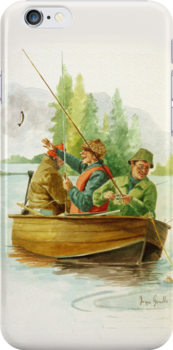 Fishing day out by Joyce Grubb