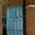 Very Old Blue Door by David DeWitt