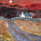 Bwthyn Gwyn (White Cottage) by bevmorgan