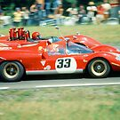Watkins Glen 1970 by Peter Zurla