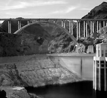 The Mike O'Callaghan – Pat Tillman Memorial Bridge by Lucinda Walter