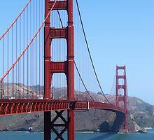 San Francisco Golden Gate by Henrik Lehnerer