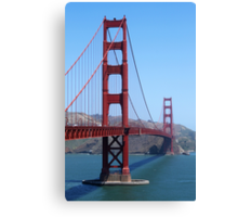 San Francisco Golden Gate Canvas Print