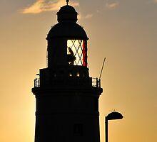Lighthouse, Gibraltar by buttonpresser
