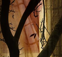 Night Tree Silhouette by Jane Underwood