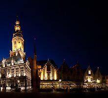 Night panorama of Verne,  Belgium by Maxim Mayorov