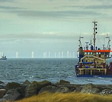 English Coast,Danish Ship,Scottish Windmills by VoluntaryRanger