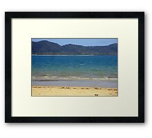 Dunk Island seen from South Mission Beach Framed Print