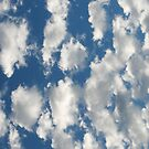 Blue Sky and Clouds by HighDesign