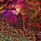 Orion Over Sedona by HDTaylor