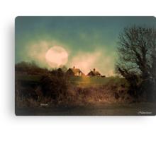 Lit By Moonlight Canvas Print