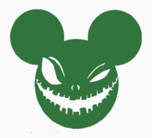 Scary Mickey Green by Patrick Williams
