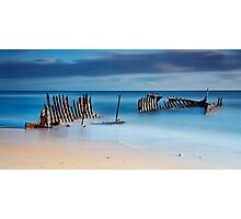 Dicky's Ribs Photographic Print