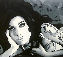 Amy Winehouse by thepurposemaker
