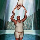 Circus Strongman by Mike Paget