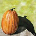 Single Pumpkin Still Life by Przemysław Bródka