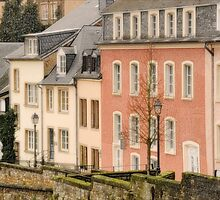 Luxembourg Rowhouses by KimF