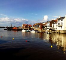 Whitby harbour by JHuntPhotos