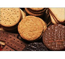 Fancy a biscuit? Photographic Print