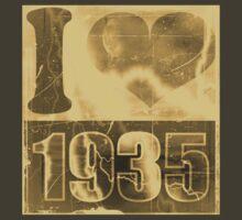 I love 1935 - Vintage by Nhan Ngo