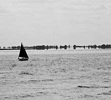 Sailing boat by JHuntPhotos