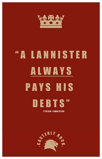 Lannister Quote by liquidsouldes