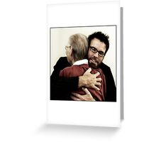 Let me put my arms around you once more.. Greeting Card