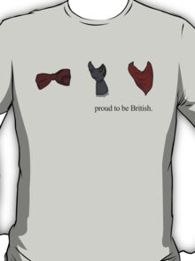 Proud to be British - TV Series T-Shirt