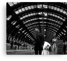 The reflections station Canvas Print