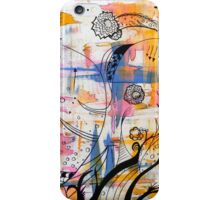 Flower Painting 1  iPhone Case/Skin