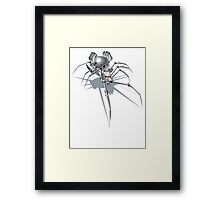 Nano Tech War Spider Framed Print
