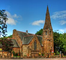 St. Ninian's Craigmailen Parish Church by Tom Gomez