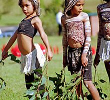 The Dancers, Reconciliation Day, Coffs Harbour, NSW by Adrian Paul
