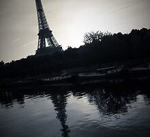 Eiffel Tower Reflection by Scott Mohrman
